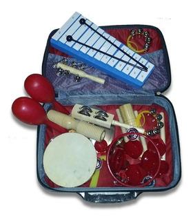 Kit De Percusion 14 Instrumentos Knight Ideal Niños