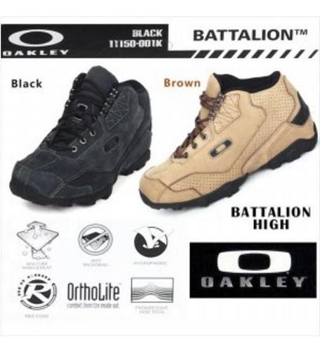 Botas Oakley Tactical Field Gear Militares 200 Greens