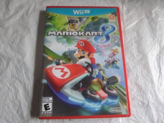 Mario Kart 8 Original Com A Caixa & Manual Para Wii U