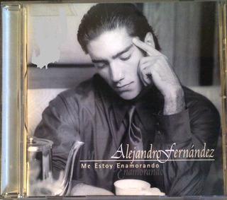 Cd - Alejandro Fernandez - Me Estoy Enamorando - Original
