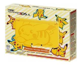 Consola New Nintendo 3ds Xl Edicion Especial Pikachu /u