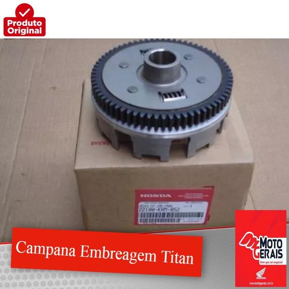 Campana Embreagem Titan 150 Es Esd Esdi 2004/2015 Orig Honda