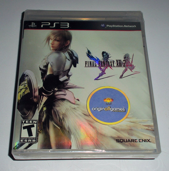 Final Fantasy Xlll-2 ¦ Jogo Ps3 Original Lacrado ¦ M Física