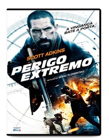 Dvd Perigo Extremo - Scott Adkins - Mídia Física Lacrado