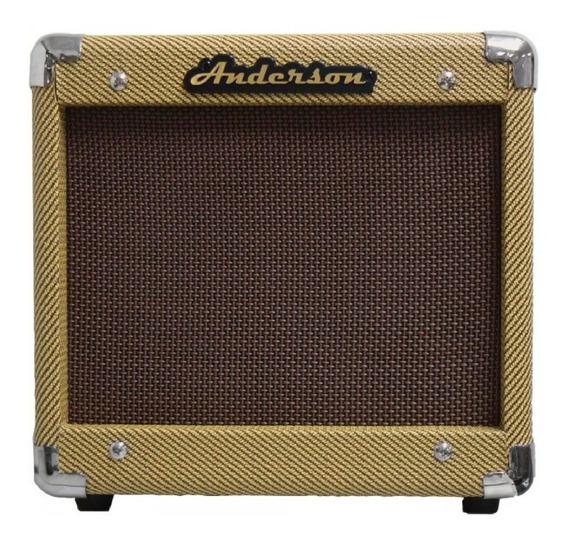 Amplificador Para Guitarra Anderson Gv25r 25 Watts Vintage.