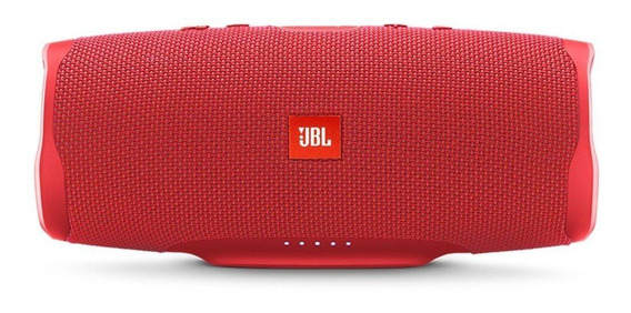 Caixa de som JBL Charge 4 portátil Red