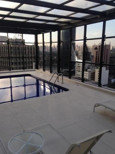 Flat Para Venda Em São Paulo, Itaim Bibi, 1 Dormitório, 1 Banheiro, 1 Vaga - Afc 1307v
