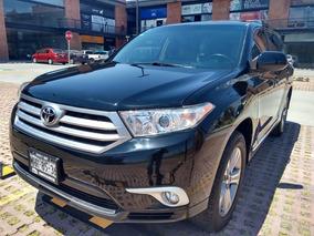 Toyota Highlander Premium Sport Qc Piel At Plazo Hasta 48 M
