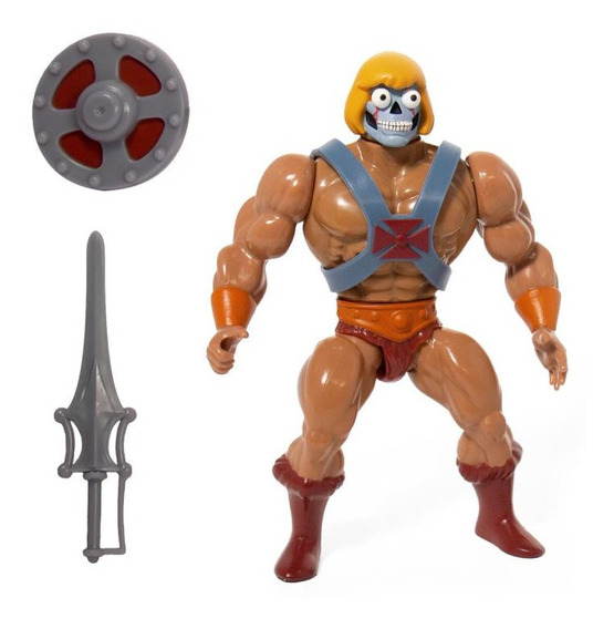 Super 7 Motu Los Amos Exclusiva Unboxing Robot He-man