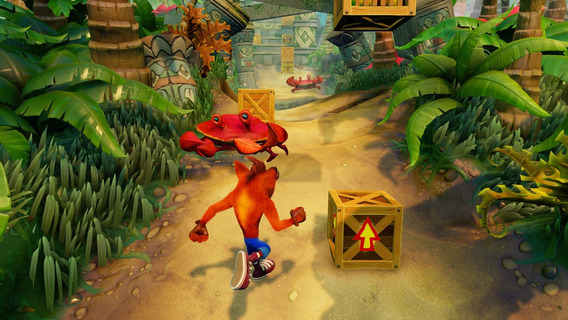 Jogo Crash Bandicoot N Sane Trilogy Ps4