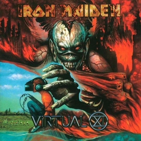 Cd Iron Maiden Virtual Xi - Novo Original E Lacrado