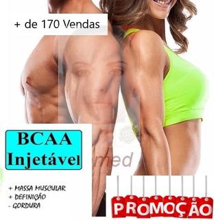 Bcaa Injetavel - 10 Ampolas 2ml - Suplemento Humano