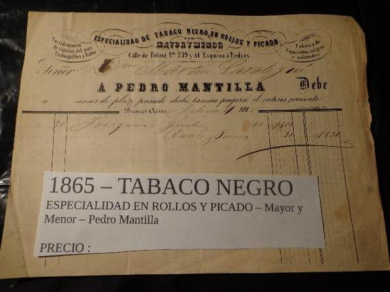 1865-casa De Tabacos-calle Potosí 239 Esq. Piedras- Bs. As