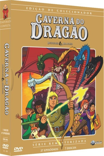 Dvd Caverna Do Dragão - Edição De Colecionador - Lacrado