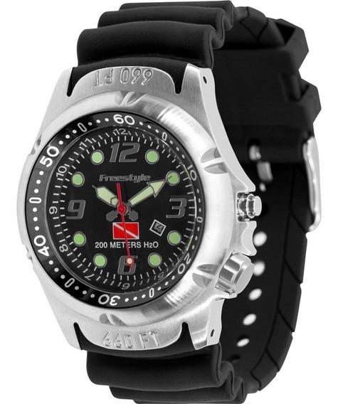 Relógio Freestyle Hammerhead Black Dive 200 Meters H20