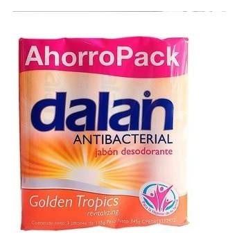 Jabon Antibacterial Dalan Ahorropack Golden -t  115g