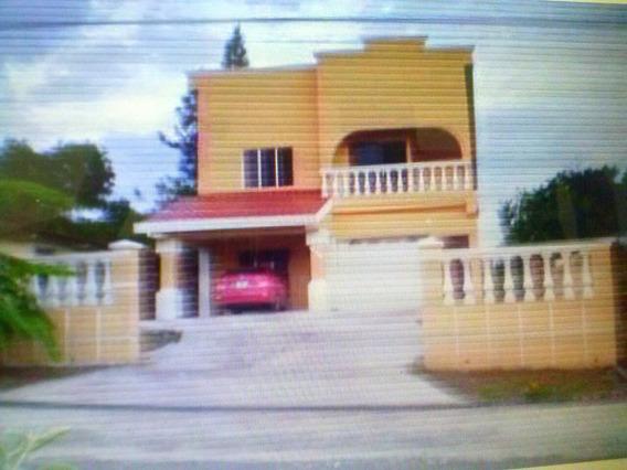 Rento Casa 3 Rec. Con Muebles En Santiago- Panama $ 600.00