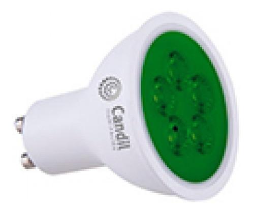 Pack X 5 Lamparas Dicroicas Led Gu10 220v Candil Luz Color
