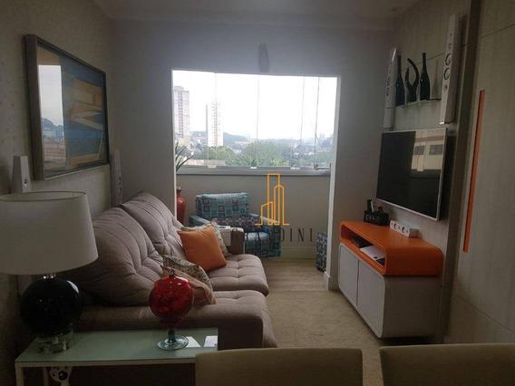 Apartamento Com 2 Dormitórios À Venda, 60 M² Por R$ 350.000 - Ap1124