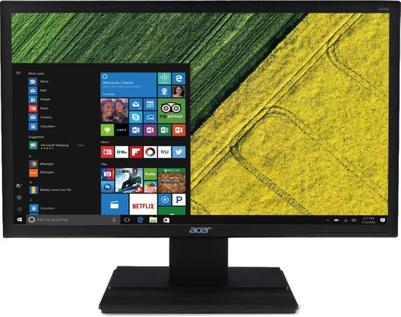 Monitor Acer 24 Full Hd (1920 X 1080) 60hz 5ms Dvi Hdmi