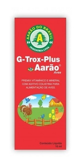 G Trox Plus Aarão 10ml