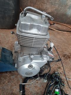 Motor Completo Titan 150 Es, Ano 2004 A 2008 Com Nota Fiscal