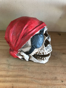 Crânio Pirata - Decoração