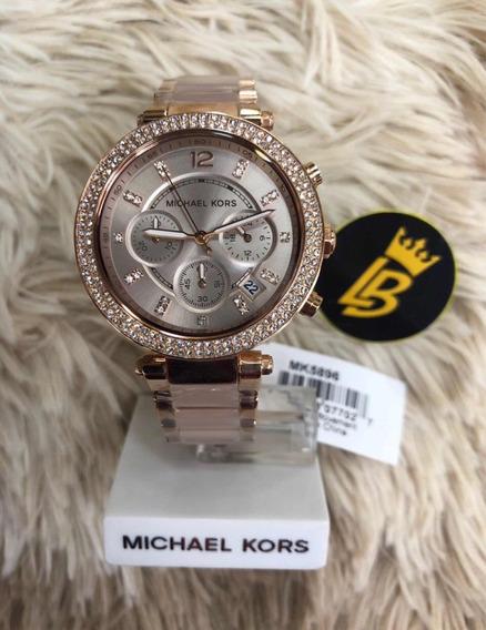 Relógio Mk5896 Original, Garantia, Caixa + Frete Grátis