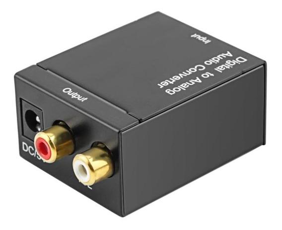Fibra Óptica Coaxial Spdif Para Rca Dvd Amplificador Para