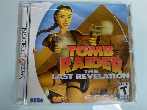 Tomb Raider The Last Revelation Sega Dreamcast Original