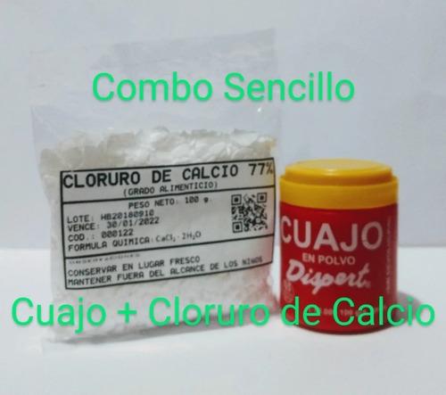 Cuajo + Cloruro De Calcio (todoqueso2)