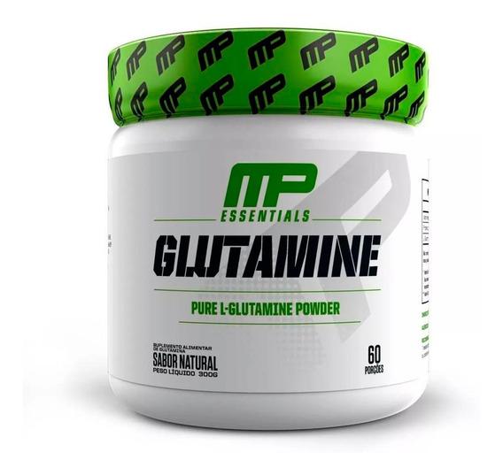 Glutamina Pura Powder Importada 300g - Glutamine Musclepharm