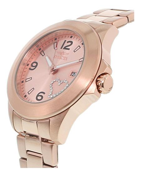 Relógio Invicta 16328 Specialty Lad Rose Gold-tone Da Mulher