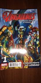 Hq Os Vingadores Coleção Completa 28 Volumes Panini