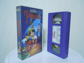 Pinocho Vhs, Películas Infantiles Y Clásicos De Walt Disney