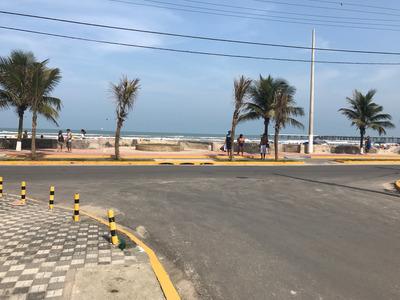 Casa Temporada Mongagua Plataforma Na Frente Da Praia.