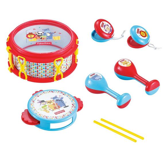 Juguete Musical Set Banda Color Multicolor Con Accesorios Ma