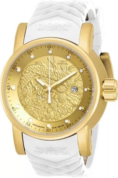 Relógio Invicta Original - Ouro18k