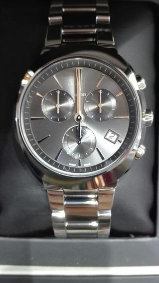 Reloj Rado D-star 42mm Con Cronogrago Cuarzo