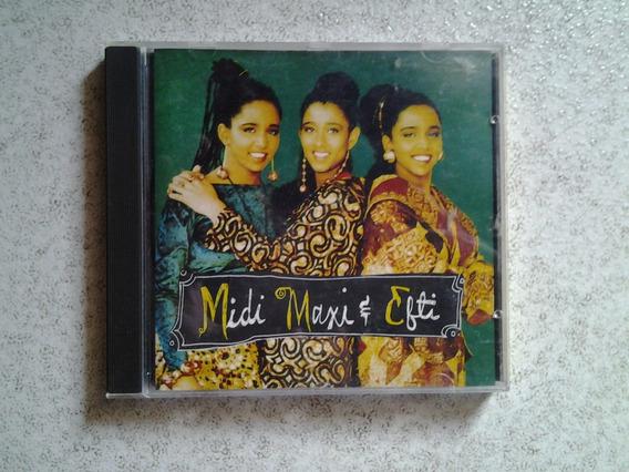 Cd Midi Maxi & Efti - Ragga Steady