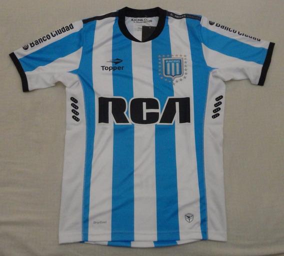 Camiseta De Racing Marca Topper #15 #videla, Talle S
