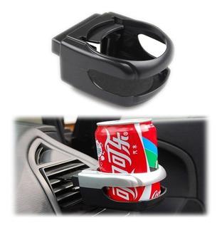 Soporte Posa Vaso Auto Ajustable Para Rejilla Aire Practico