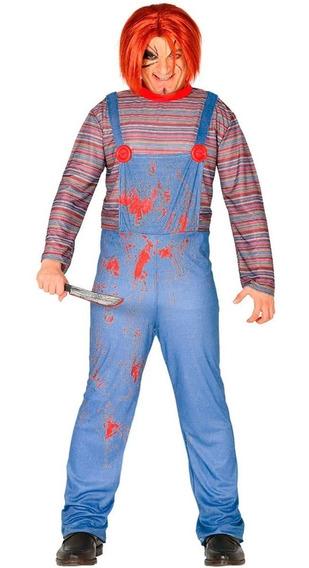 Disfraz Chuky Adulto/adolescente Halloween Chirimbolos