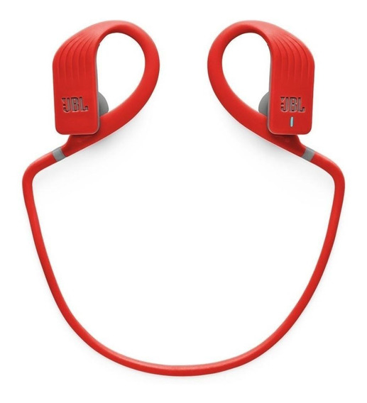 Fone de ouvido sem fio JBL Endurance JUMP vermelho