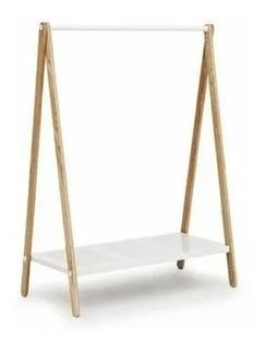 Perchero De Pie .elegante Y Minimalista. Diseño Agradable.