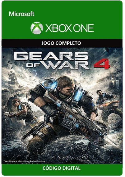 Gears Of War 4 Xbox One / Windowns 10 25 Dígitos - Imediato