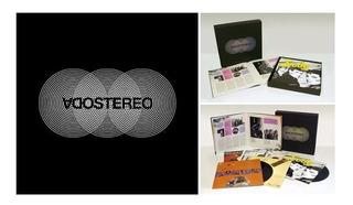 Vinilo Soda Stereo Caja Negra Box Set 7 Lp Nuevo En Stock