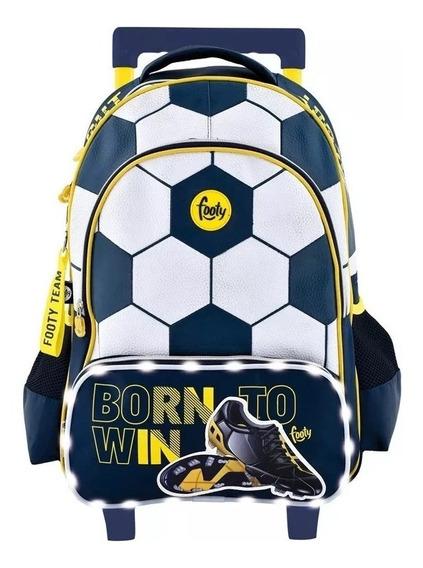 Mochila Footy Carro Fútbol Born To Win 18