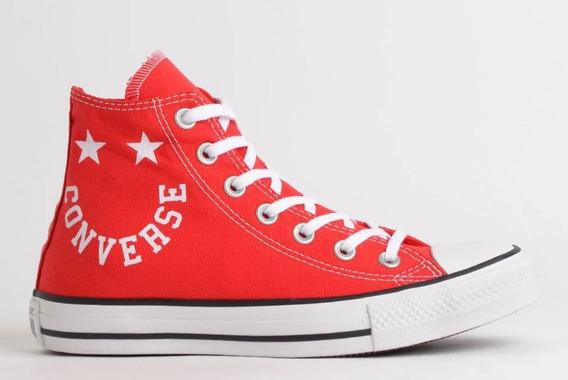Tênis Converse All Star Bota Vermelho Ct13180002 Original