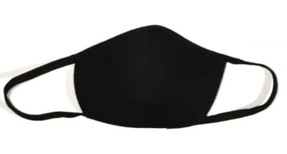 Cubrebocas Kawaii Neopreno Escandalosos Marshmello Negro
